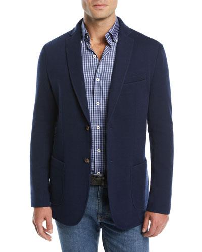 Men's Crown Comfort Two-Button Blazer
