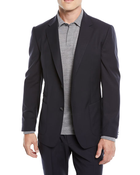 Z Zegna Men's Turati Wash-and-Go Two-Piece Wool Suit