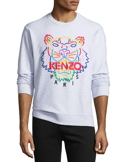 Kenzo Men's Tiger-Graphic Crewneck Sweatshirt