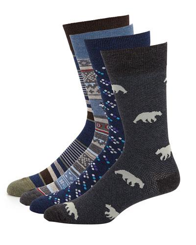 Men's 4-Pack Arctic Socks