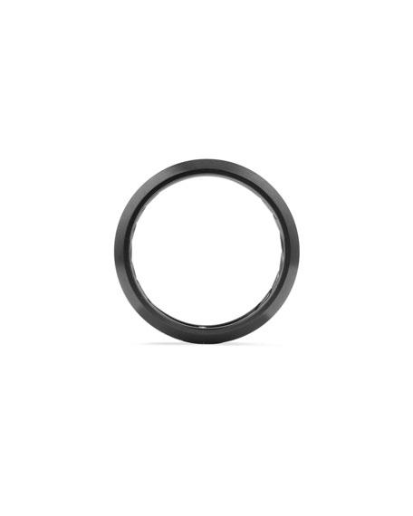 David Yurman Men's Beveled Edge Titanium Band Ring