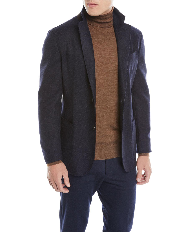 Ermenegildo Zegna Men S Tweed Slim Fit Sport Jacket