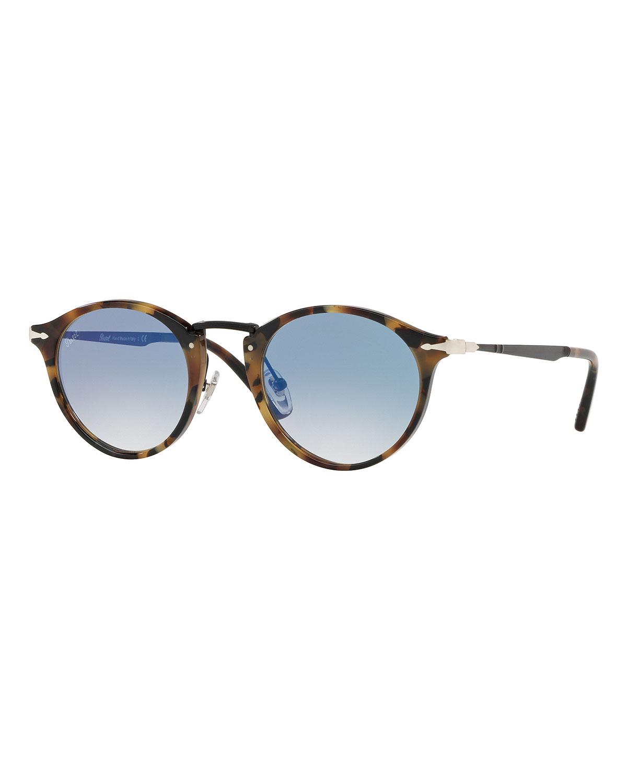 867754c5c3c0e Persol Calligrapher Edition PO3166S Round Acetate Sunglasses ...
