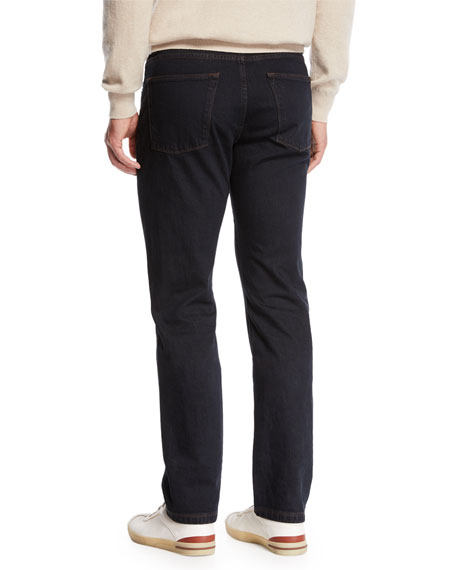 Loro Piana Men's 5-Pocket Straight-Leg Pants