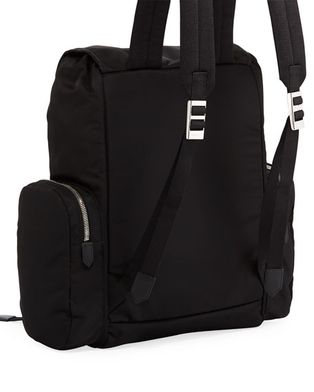 CALVIN KLEIN 205W39NYC Men's Logo Typographic Flap-Top Backpack
