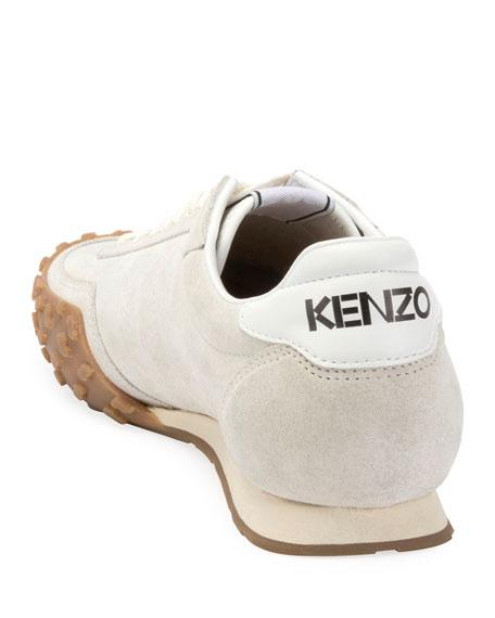 Kenzo Men's Move Tiger Suede Sneakers
