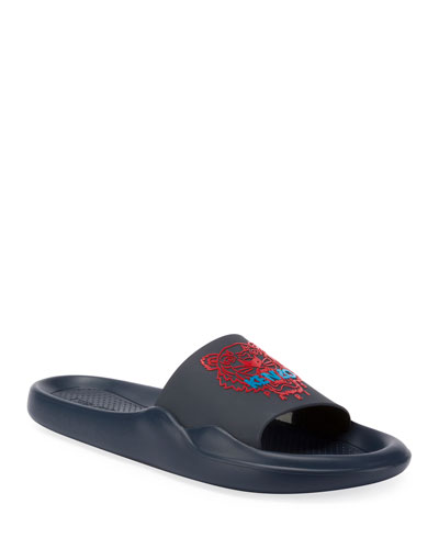 Men's Logo EVA Pool Slide Sandal