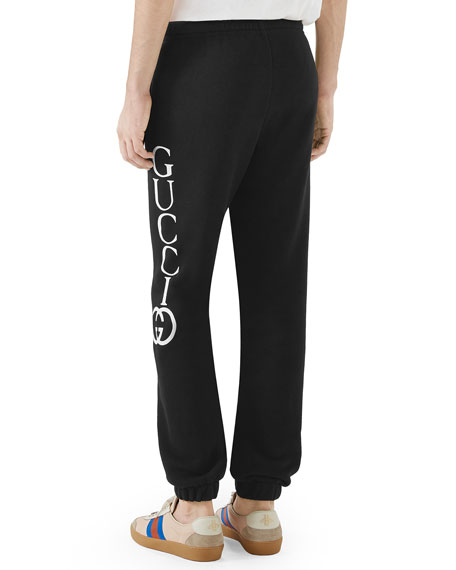 Gucci Cut & Sewn Side Logo Sweatpants