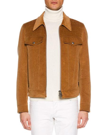 TOM FORD Men's Velvet Jean Jacket