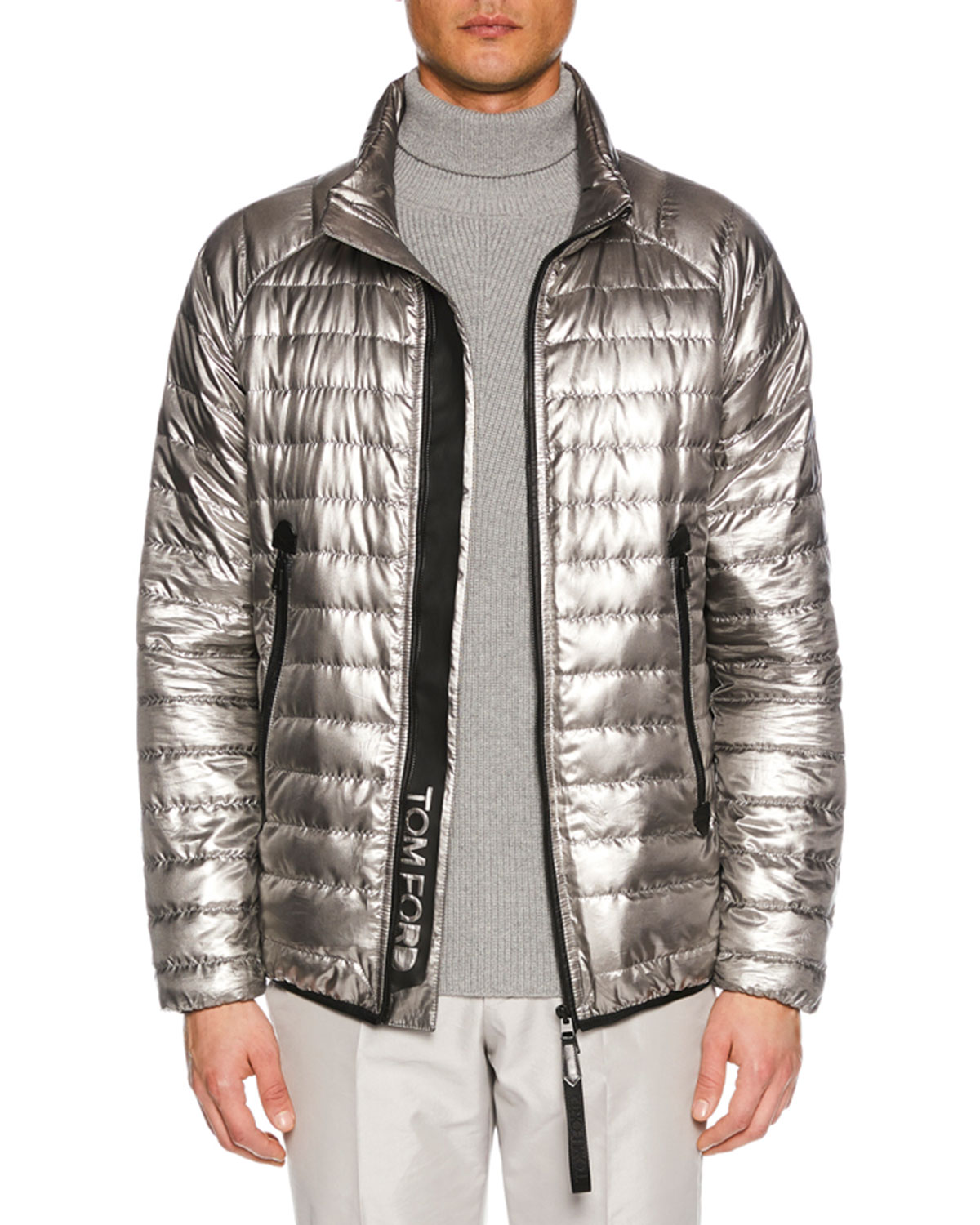 1457ffc8af6 TOM FORD Men s Metallic Puffer Jacket