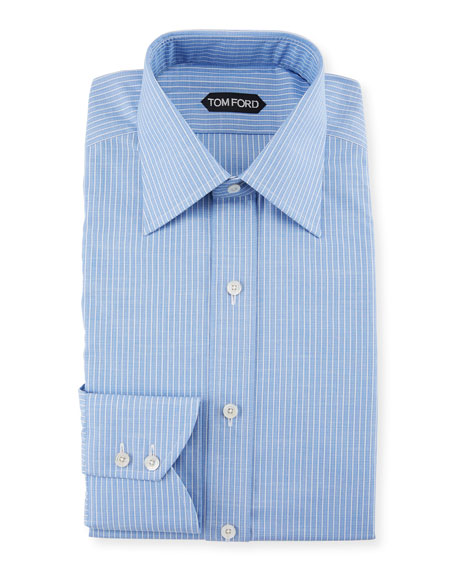 TOM FORD Men's Striped Dress Shirt