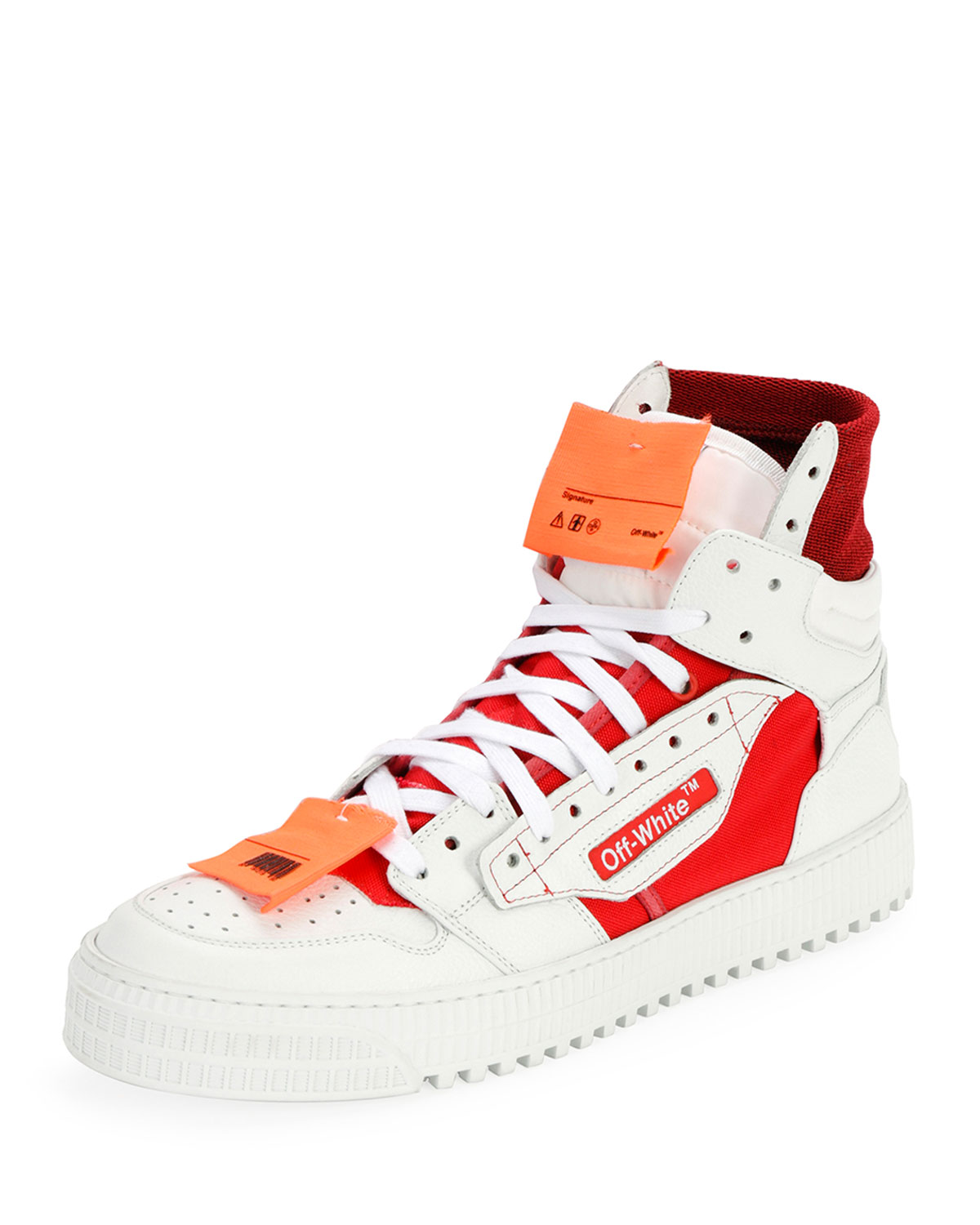 57c60469b65d Off-White Men s Off Court Tumbled Sneakers