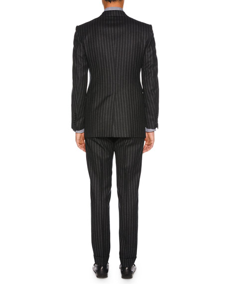 TOM FORD Men's Pinstriped Wool Two-Piece Suit