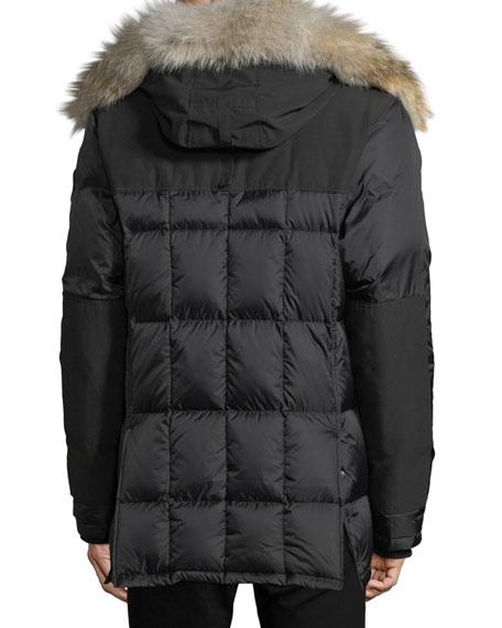 Canada Goose Men's Callaghan Fur-Trim Hooded Parka Coat