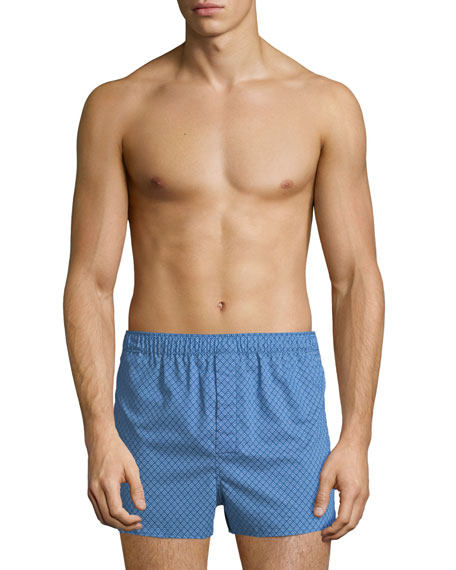 Derek Rose Nelson 66 Modern-Fit Cotton Boxer Shorts
