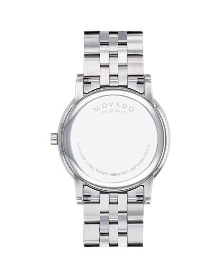 Movado Men's 40mm Ultra Slim Watch with Bracelet & Black Museum Dial