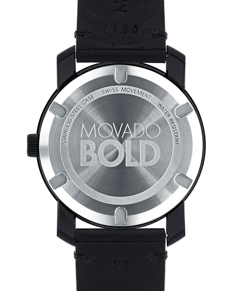 Movado Bold Men's 42mm Bold Two-Hand Watch, Gray