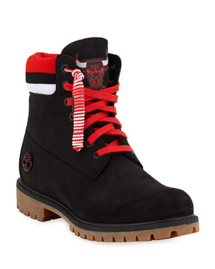 091408b97756 Timberland Men s Chicago Bulls Work Boots