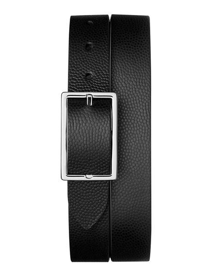 Shinola Men's Latigo Reversible Rectangular-Buckle Belt