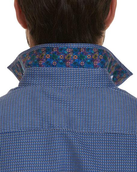 Men's Garvey Mini Check Sport Shirt