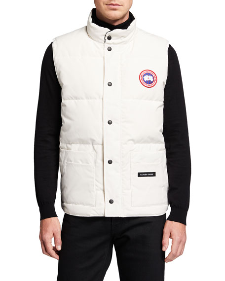 Men's Freestyle Down Crew Vest
