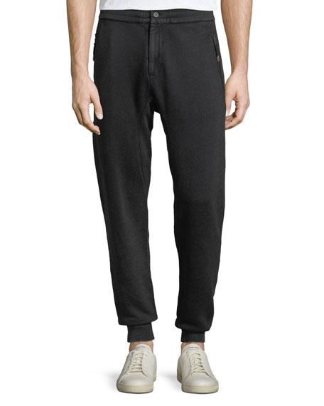 John Varvatos Star USA Men's Knit Jogger Pants