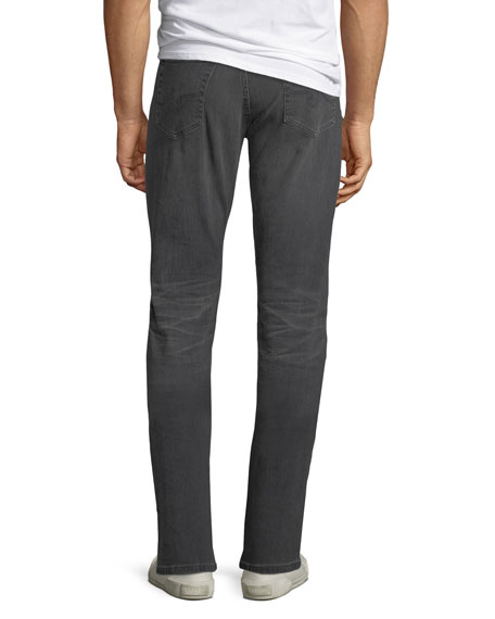 AG Adriano Goldschmied Men's Everett Slim-Straight Jeans in 6 Years Arcade
