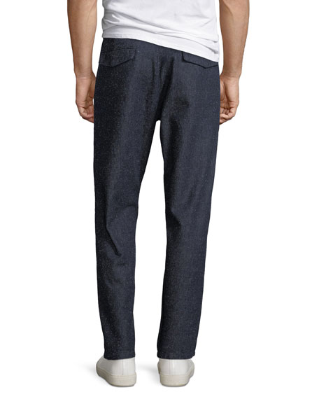 Levi's Made & Crafted Men's Tapered Silk-Blend Trouser Pants