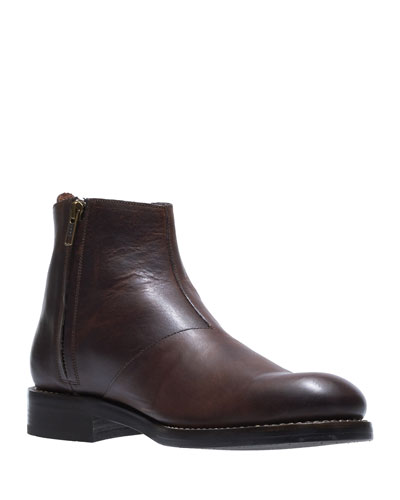 Men's Montague Leather Chelsea Boots  Brown