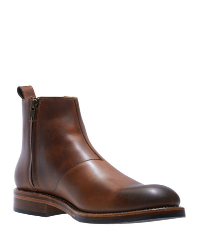 Men's Montague Leather Chelsea Boots  Tan