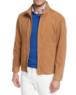 56a0b45ad9136 Men s Designer Coats   Jackets at Neiman Marcus