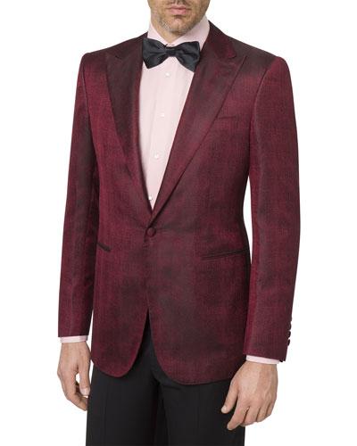 Men's Silk Tuxedo Jacket
