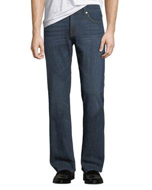 0bfa83ec95 7 for all mankind Men's Brett Straight-Leg A-Pocket Jeans