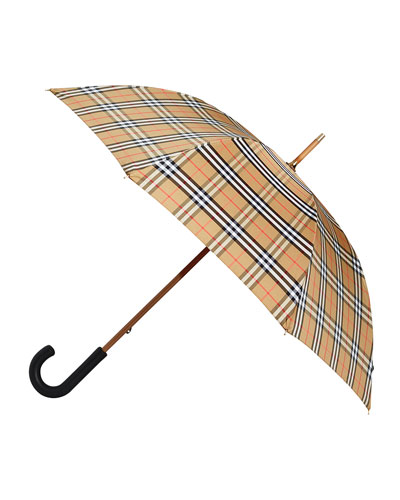 Men's Richmond Vintage Check Walking Umbrella