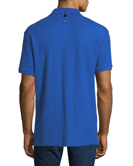 Rag & Bone Men's Daggers Pique Polo Shirt
