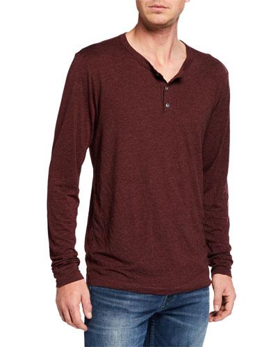 Men's Sol Essential Henley Shirt