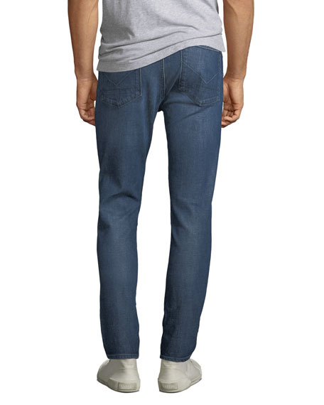 Hudson Men's Vaughn Ankle Zip Skinny Jeans