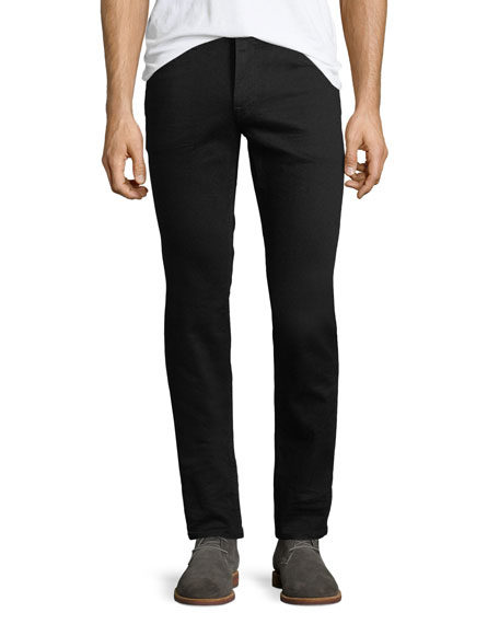 Hudson Men's Blake Slim-Straight Jeans, Black