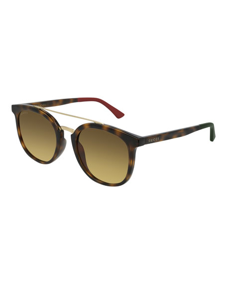 Gucci Men's GG0403SA003M Injection Sunglasses