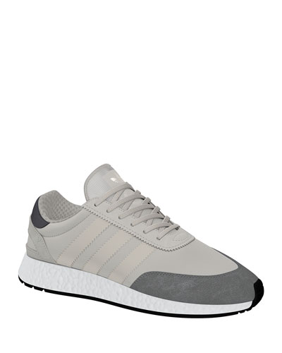 Men's I-5923 Trainer Sneakers  White/Gray