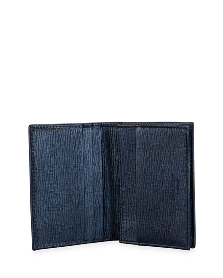 Salvatore Ferragamo Men's Revival Gancini Business Card Case