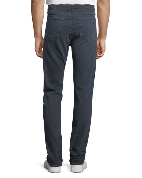 Image 2 of 3: Rag & Bone Men's Standard Issue Fit 3 Loose-Fit Straight-Leg Jeans, Navy Blue