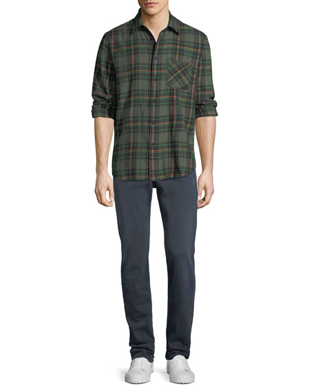 Image 3 of 3: Rag & Bone Men's Standard Issue Fit 3 Loose-Fit Straight-Leg Jeans, Navy Blue