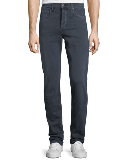 Image 1 of 3: Rag & Bone Men's Standard Issue Fit 3 Loose-Fit Straight-Leg Jeans, Navy Blue