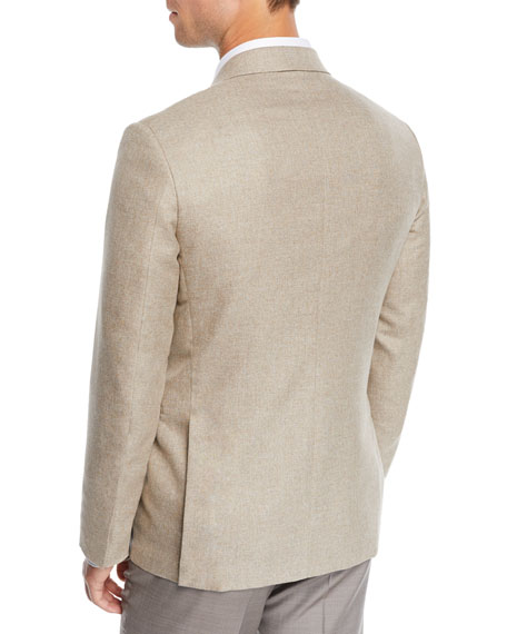 Image 2 of 3: Ermenegildo Zegna Men's Cotton Blazer
