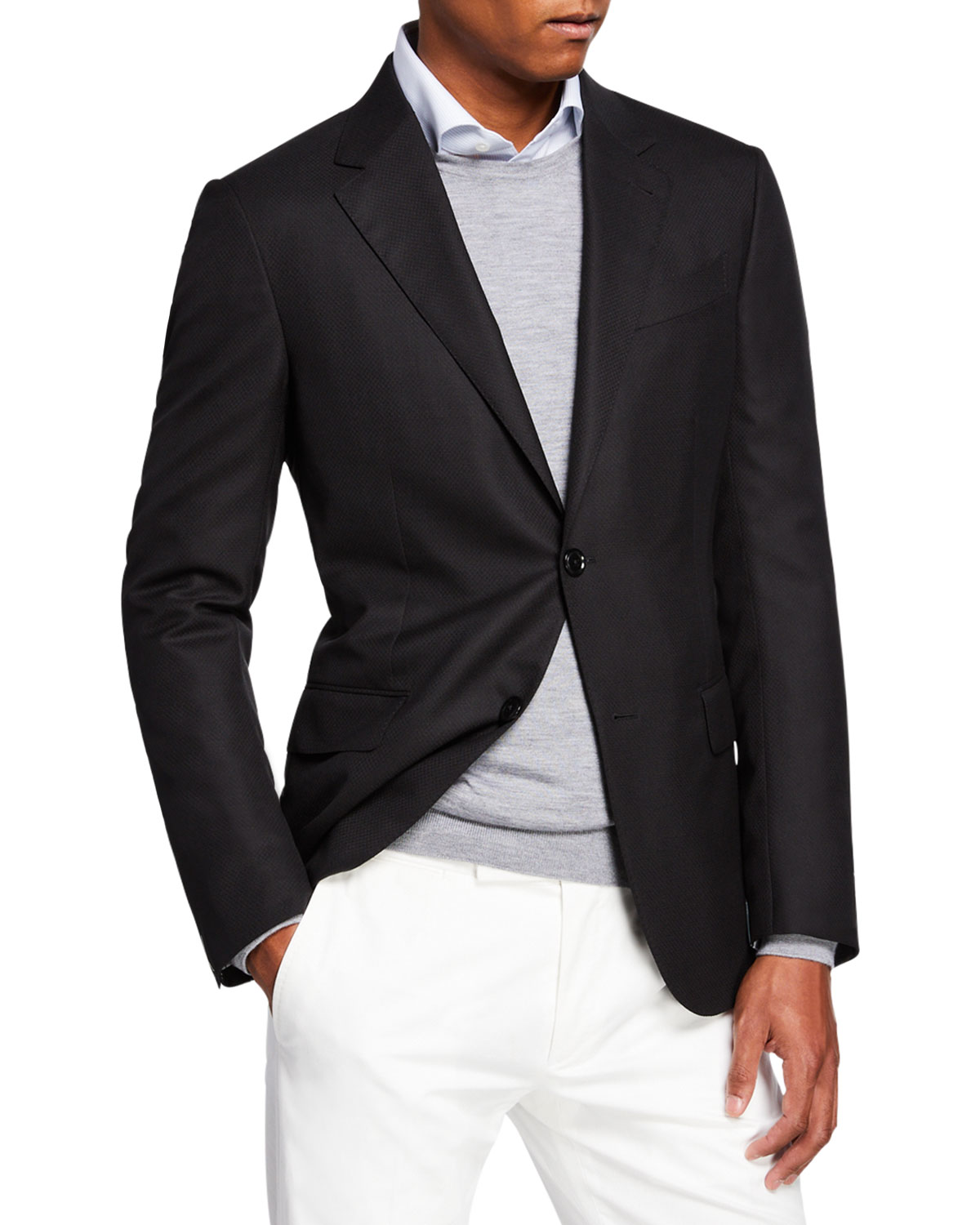 fb00183f Men's Cool Effect Wool Blazer