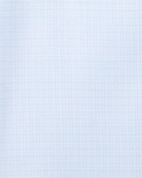Ermenegildo Zegna Men's Cotton Tonal Check Cento Dress Shirt