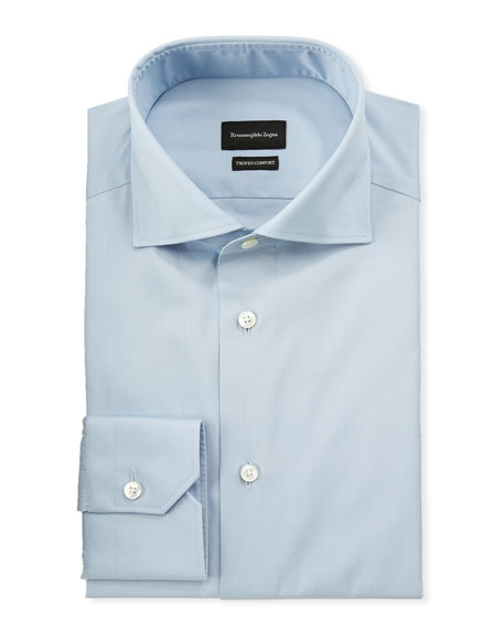 Ermenegildo Zegna Men's Trofeo Dress Shirt