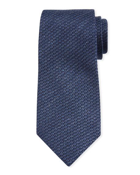 Ermenegildo Zegna Textured Solid Silk Tie