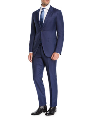 70a2247c Ermenegildo Zegna Men's Two-Piece Nailhead Suit